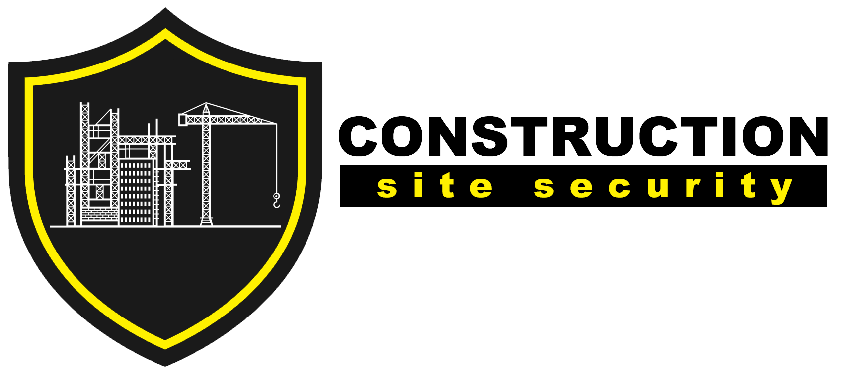 Construction Site Security Logo